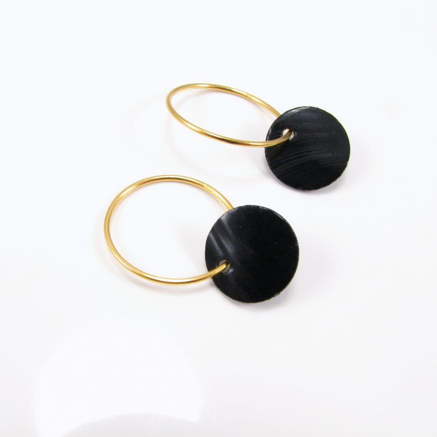 Guldcreol med sort perlemorsmønt