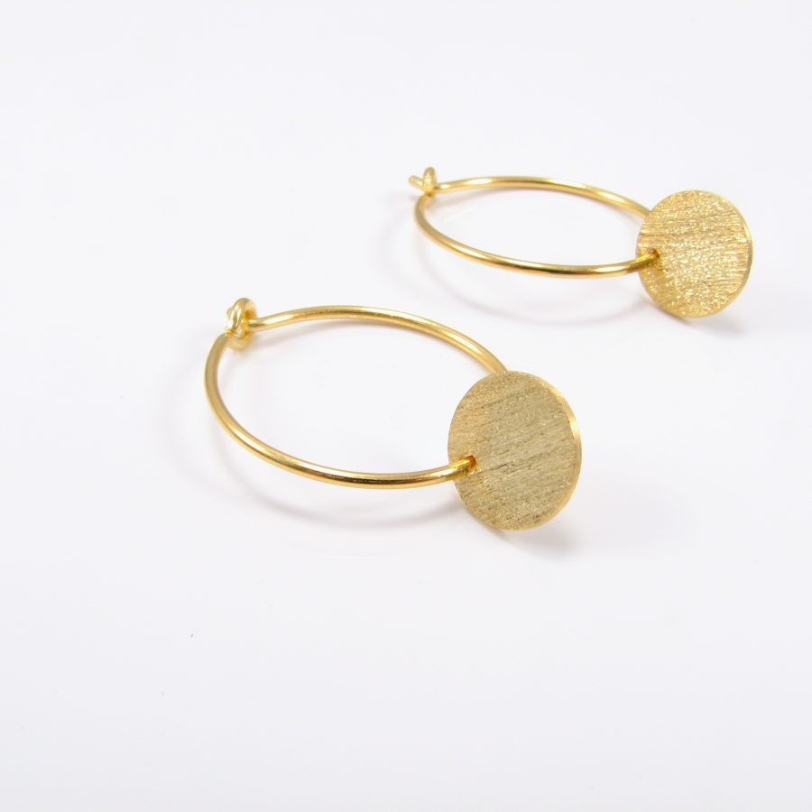 Guldcreol med guldmønt