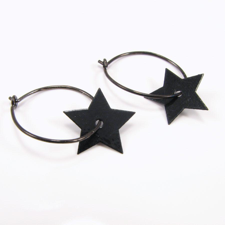 Oxideret sterling creol med stjerne