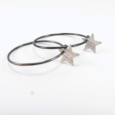Sølvstjerne på sterling creol