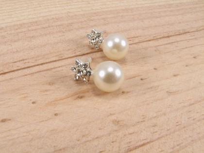 Ørering med perle