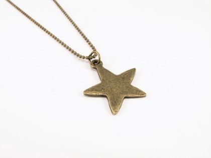 Vintage stjerne med kæde