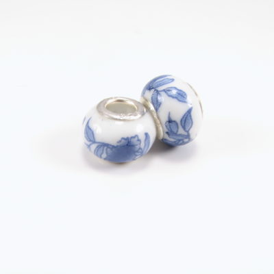 Keramikperle - blå