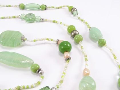 Frisk grøn unika kæde