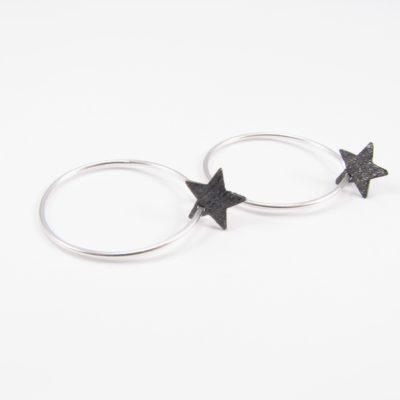 Oxideret stjerne på sterling creol