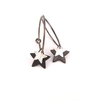 Stjerner på oxideret sterling creole