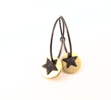 Ea331 Oxideret creol med mønt og stjerne