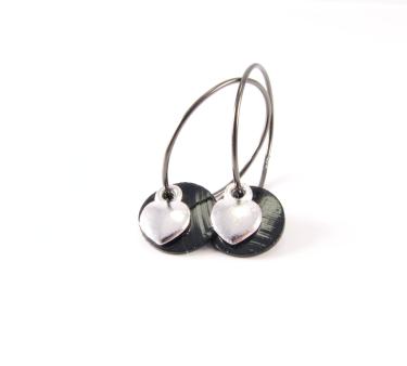 EA342 Oxi creol med perlemor og hjerte