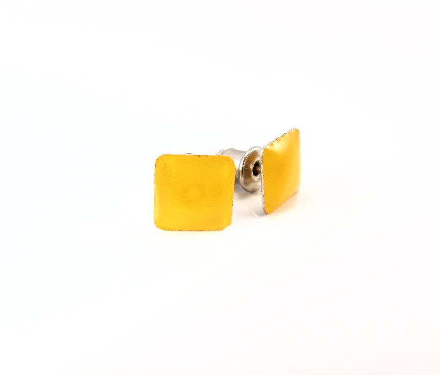 EA176_Firkantet orange ørestikker