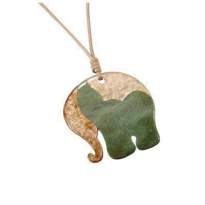 Smuk grøn elefant